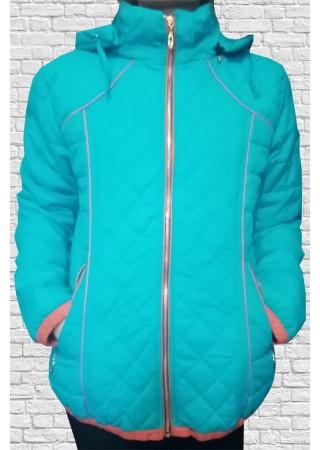 Куртка женская бирюзовая