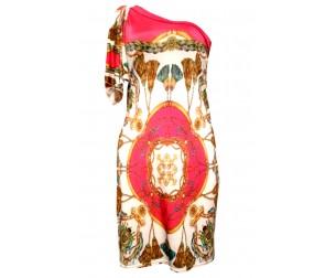 Платье М105 фуксия