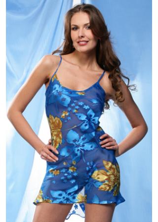 Сорочка 725 Mia-Mia клен на голубом