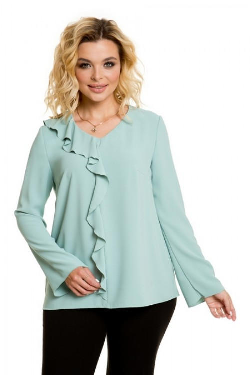 Блузка 924 мятная Novita