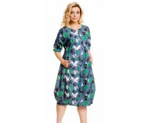 Платье 873-1 джинсовое Novita