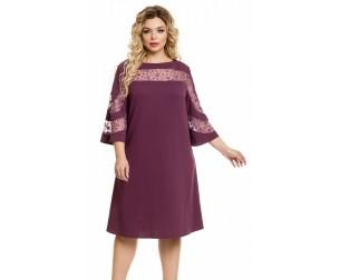 Платье 851 лиловое Novita