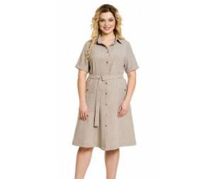 Платье 1004 песочное Novita