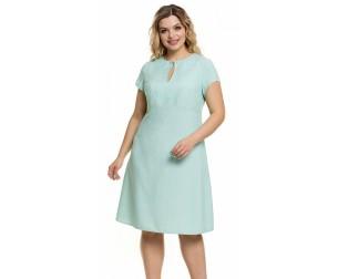 Платье 1012 мятное Novita