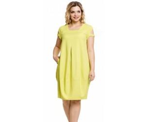 Платье 1015 лимонное Novita