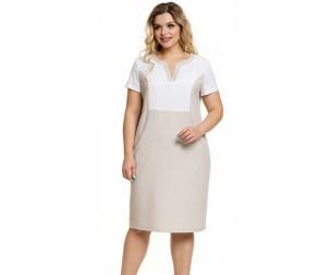 Платье 1021 экрю Novita