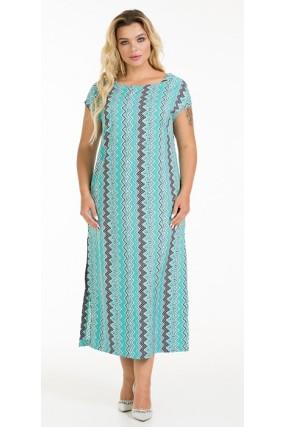 Платье 1037 бирюзовое Novita