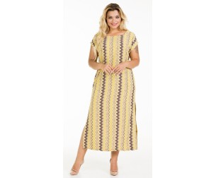 Платье 1037 желтое Novita
