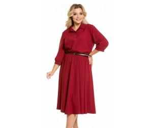 Платье 1045 винное Novita