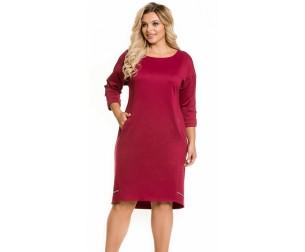 Платье 1059 красная груша Novita