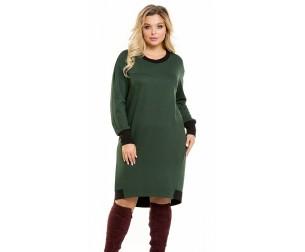 Платье 1061 зеленое Novita