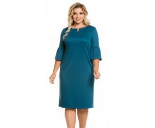 Платье 1069 изумрудное Novita