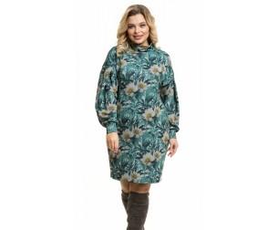 Платье 1080 цветы Novita