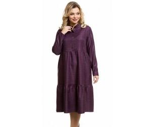 Платье 1083 сливовое Novita