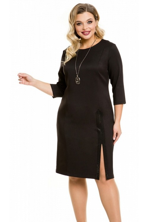 Платье 1091 черное Novita