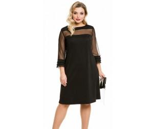 Платье 1093 черное Novita
