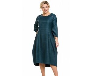 Платье 1112 изумрудное Novita