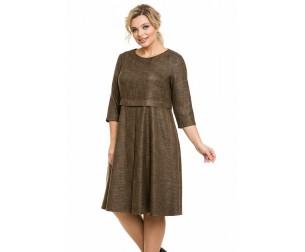 Платье 1126 золотое Novita
