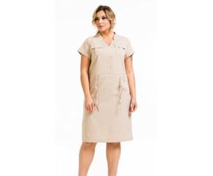 Платье 1128 песочное Novita