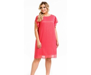 Платье 1133 коралловое Novita