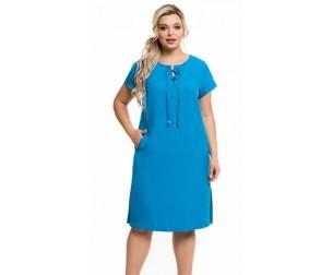 Платье 1144 лазурное Novita
