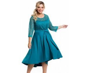 Платье 1171 бирюзовое Novita