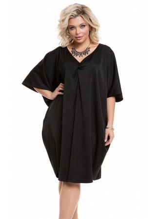 Платье 1197 черное Novita