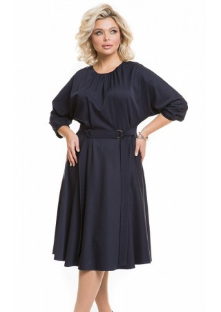 Платье 1199 темно-синее Novita