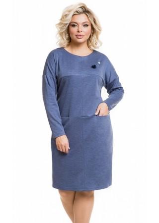 Платье 1200 джинсовый Novita