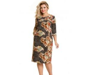 Платье 210-1 цветы Novita