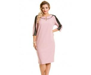 Платье 483 розовое Novita