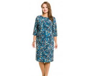 Платье 732 морская волна Novita
