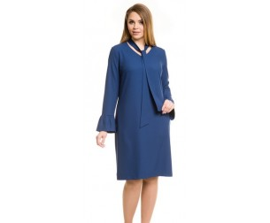 Платье 778 синее Novita