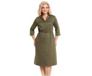 Платье 806 хаки Novita