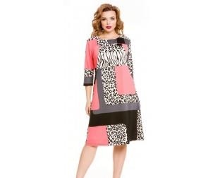Платье 809 коралловое Novita