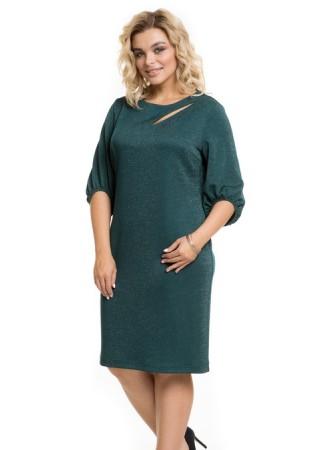 Платье 836 изумрудное Novita