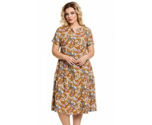 Платье 901 коричневое Novita