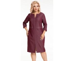 Платье 926 бордовое Novita