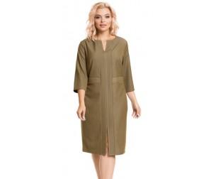 Платье 926 оливковое Novita