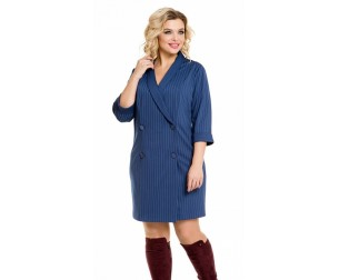 Платье 929 синее Novita