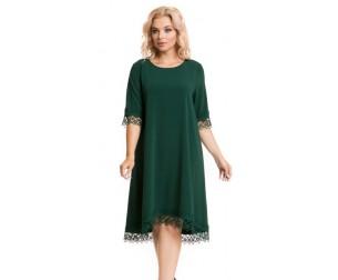 Платье 931 изумрудное Novita