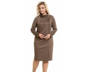 Платье 947 коричневое Novita