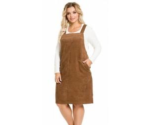 Сарафан 1040 коричневый Novita