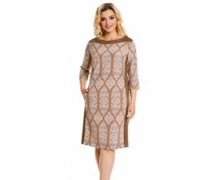 Платье 850 песочное Novita