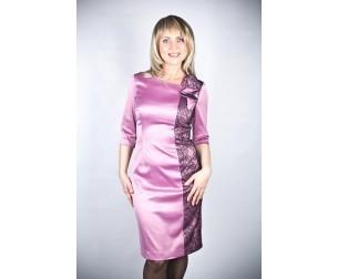 Платье 124-1 пурпурное Novita