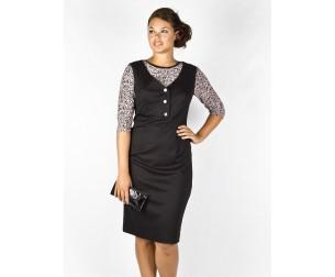 Платье 198 черное Novita