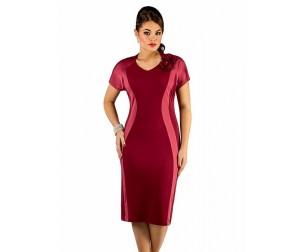 Платье 226 бордовое Novita