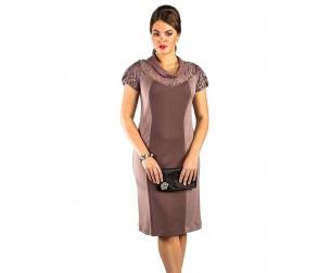 Платье 231 какао Novita
