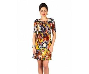 Платье 353 цветы Novita