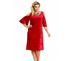 Платье 673 красное Novita